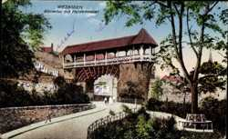 Römertor, Heidenmauer