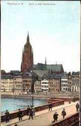 Dom, alte Mainbrücke