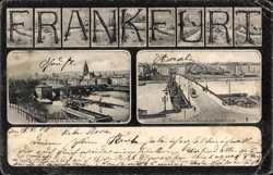 Mainbrücke, Stadtbibliothek