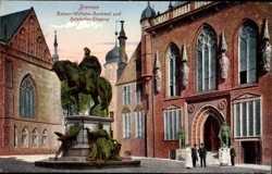 Kaiser Wilhelm Denkmal, Ratskeller Eingang