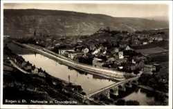 Naheseite, Drususbrücke