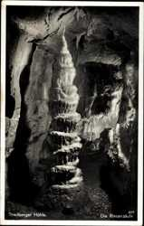 Riesensäule, Streitberger Höhle