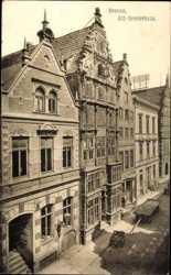 Alte Giebelhäuser