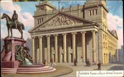 Theater und Kaiser Wilhelm I Denkmal