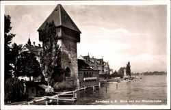 Blick von Rheinbrücke