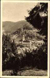 Blick auf die Wallfahrtskirche