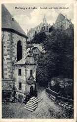 Schloss und lutherischer Kirchhof