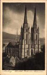 Elisabeth Kirche von Nordwesten