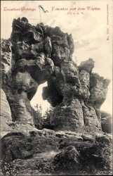 Lausitzer Gebirge, Felsentor