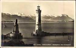 Hafenausfahrt, Scesaplana, Drei Schwestern