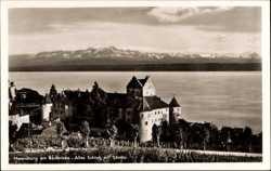 Schloss mit Säntis, Panorama
