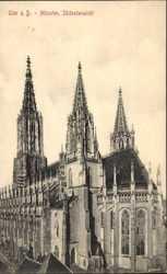Münster, Südostansicht