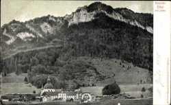 Blick zum Kloster mit Laber