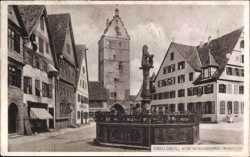 Alter Rathausbrunnen, Wörnitztor