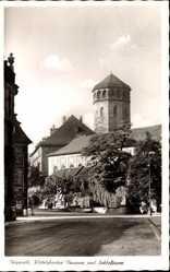 Wittelsbacher Brunnen, Schlossturm