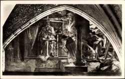 Freskogemälde, Eröffnung der Gruf Karls des Großen