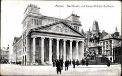 Stadttheater, Kaiser Wilhelm Denkmal