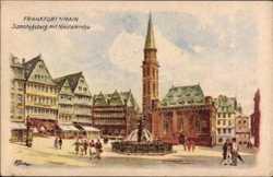 Samstagsberg, Brunnen, Nikolaikirche