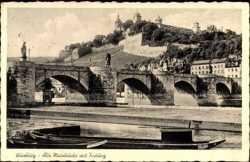 Alte Mainbrücke, Festung