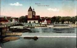 Partie an der Weser