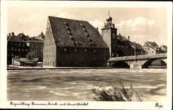 Steinerne Brücke, Donaustrudel