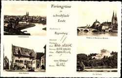 Gesamtansicht, Altes Rathaus, Walhalla