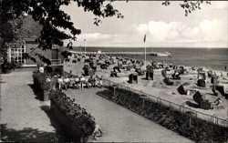 Blumengrotte mit Strand