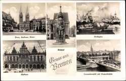 Freihafen, Roland