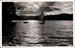 Segelboot auf dem Titisee