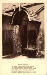 Brunnen im Goethehaus