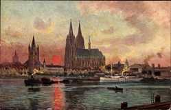 Kölner Dom, Rheindampfer