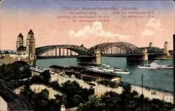 Hohenzollernbrücke, Südsete