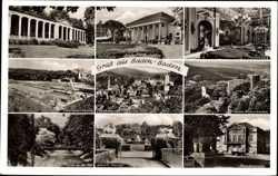 Trinkhalle, Kurhaus, Spielbank, Schwimmbad, Theaterplatz