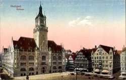 Rathaus, Marktplatz