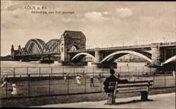 Südbrücke, Poll, Sitzbank