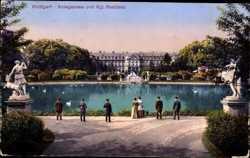 Anlagensee, Königliche Residenz