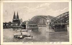 Hohenzollern Brücke, Dom