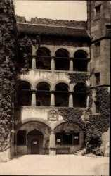 Arkaden im Schloßhof