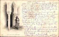 Cour d'une maison Mauresque