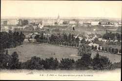 Vue panoramique prise de Guindalos
