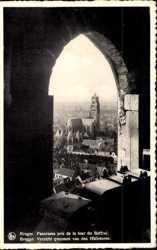 Panorama pris de la tour du Beffroi