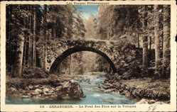 Le Pont des Fees sur la Vologne