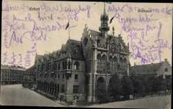 Blick auf Rathaus