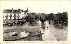 Place Jean Jaures, Avenue de Grammont