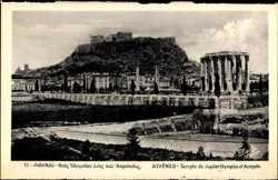 Olympischer Jupitertempel, Akropolis