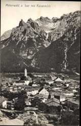 Isar, Karwendel