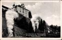 Neues Schloss, Thermalquellen