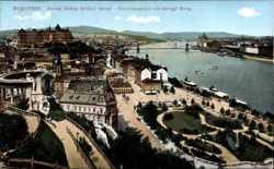 Donauausicht mit Burg