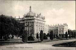 Neues Palais, Hinterfront