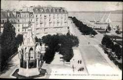 Monument de Brunswick, Promenade du Leman